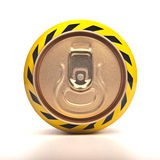 Cans with water droplets Royalty Free Stock Photography