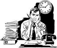 Cansado de seu trabalho velho? ilustração do vetor