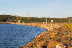 Canso Causeway Royalty Free Stock Images