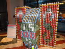 Canstruction 2013 @ The World Financial Center 2 Stock Photos