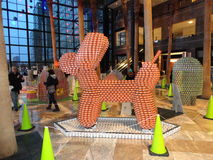 Canstruction 2013 @ The World Financial Center 6 Royalty Free Stock Photo