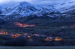 Cantabria, άνθρωποι του βουνού Στοκ Εικόνες