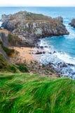 Cantabria Cliff Stock Photo