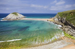 Cantabria coastline Royalty Free Stock Photography