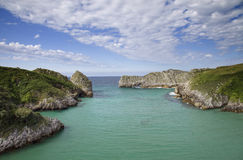 Cantabria coastline Stock Images