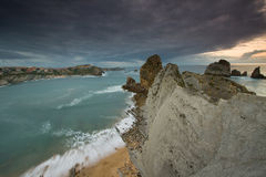 Cantabria coastline Stock Photos