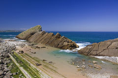 Cantabria coastline Royalty Free Stock Images