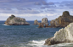 Cantabria coastline Royalty Free Stock Photo