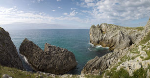 Cantabria coastline Stock Photography