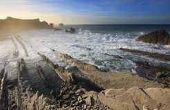 Cantabria coastline Royalty Free Stock Image