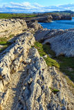 Cantabria coastline landscape. Royalty Free Stock Photo