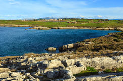 Cantabria coastline landscape. Stock Photography
