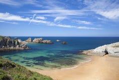 Cantabria, Costa Quebrada Stock Image