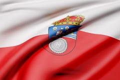 Cantabria flag Stock Photography