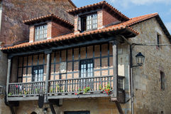 Cantabria old house Stock Images