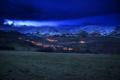 Cantabria, people of mountain Royalty Free Stock Photography