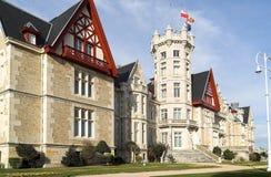 Cantabria Summer University. Universidad Internacional Menendez Pelayo. U.I.M.P. Cantabria Summer University. Spain. Palacio de la Magdalena Stock Image