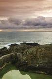 Cantabrian coast Stock Image