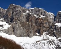 Cantabrian mountains Stock Image