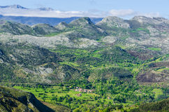 Cantabrian mountains Royalty Free Stock Photography