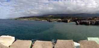 Cantabrian sea Stock Image