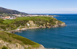 Cantabrian Sea coast Royalty Free Stock Photo
