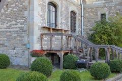 Cantacuzino城堡看法  免版税库存图片
