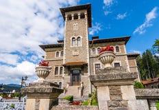 Cantacuzino城堡, Bucegi,罗马尼亚 免版税库存照片