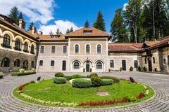 Cantacuzino城堡, Bucegi,罗马尼亚 库存图片