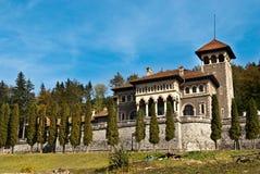Cantacuzino城堡 库存图片