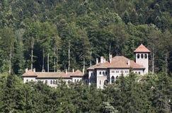 Cantacuzino城堡 图库摄影