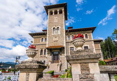 Cantacuzino Castle, Bucegi, Romania royalty free stock photo