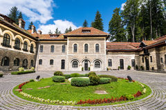 Cantacuzino Castle, Bucegi, Romania stock images