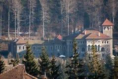 Cantacuzino castle stock photo