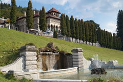 Cantacuzino Castle from Busteni Royalty Free Stock Photos