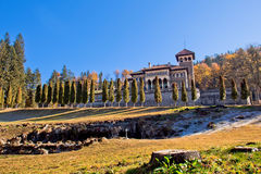 Cantacuzino Castle Romania Royalty Free Stock Images
