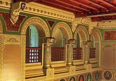 Cantacuzino Castle, Romania Royalty Free Stock Photos