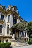Cantacuzino Palace in Bucharest. royalty free stock images