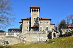 Cantacuzino Palace, Busteni, Romania royalty free stock image
