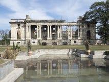 Cantacuzino Palace, Florești, Romania. The Cantacuzino Palace, nicknamed `Little Trianon`, is a palace built at Florești, near Ploiești city, Romania. Its Royalty Free Stock Photos