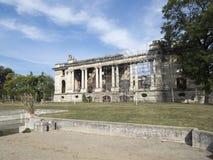 Cantacuzino Palace, Florești, Romania. The Cantacuzino Palace, nicknamed `Little Trianon`, is a palace built at Florești, near Ploiești city, Romania. Its Stock Image