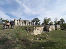 Cantacuzino Palace, FloreÈ™ti, Romania stock images