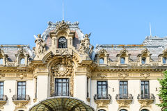 Cantacuzino Palace (George Enescu Museum) In Bucharest Stock Photography