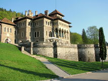 Cantacuzino slott royaltyfria foton