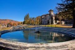 Cantacuzino slott Rumänien Royaltyfria Bilder