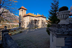 Cantacuzino slott Rumänien Arkivbilder