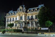 Cantacuzino slott som lokaliseras på Victory Avenue Royaltyfria Foton