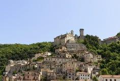 Cantalice cityscape, Rieti Stock Image