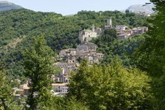 Cantalice view, Rieti Stock Images