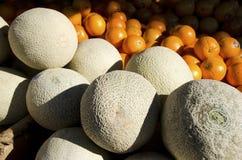 Cantalope 图库摄影